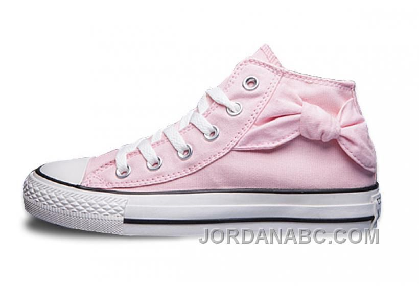 Converse Hello Kitty Bow Tie Side Pink High Tops Chuck Taylor All Star