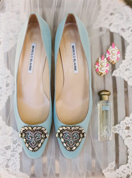 100 Layer Cake Blogger Flats Wedding Shoes Blue Loafers Manolo Blahnik Light