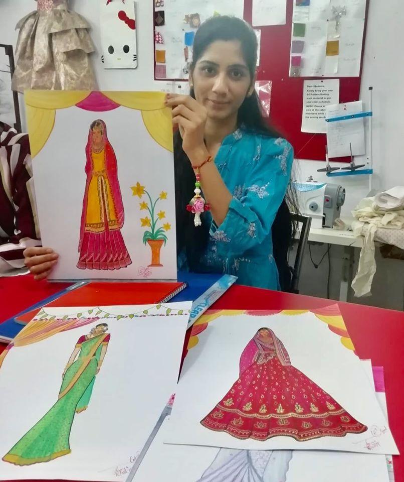 Fashion Design Dreamzone Dehradun In 2020 Fashion Designing Course Fashion Design Fashion Designing Institute