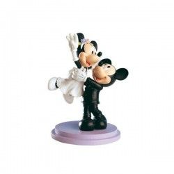 Figura de pastel Novios Mickey&Minnie just married