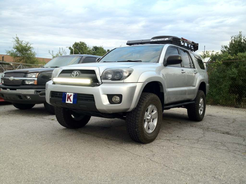 4runner with front bumper light bar 4runner pinterest toyota 4runner with front bumper light bar mozeypictures Image collections