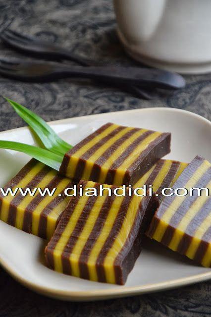 Diah Didi S Kitchen Kue Lapis Beras Labu Kuning Coklat Kue Lapis Makanan Manis Kue