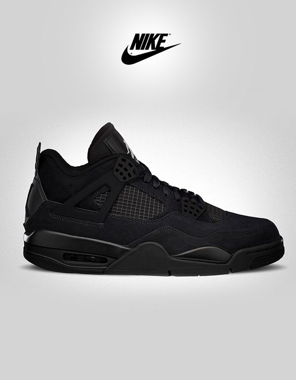 overdeauxis: Nike Air Jordan Retro 4-Black Cat. Follow Overdeauxis, The  Streetfashion