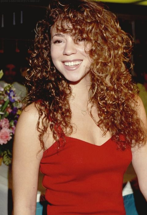 Citizen Of The World Dahhhling Photo Curly Hair Styles Mariah Carey 90s Hairstyles With Bangs