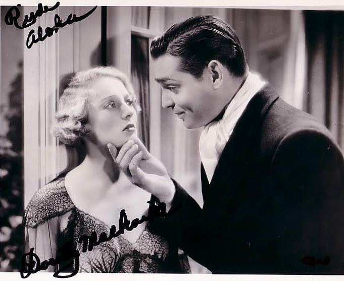 """Dorothy Mackaill in the film """"No men of her Own"""""""