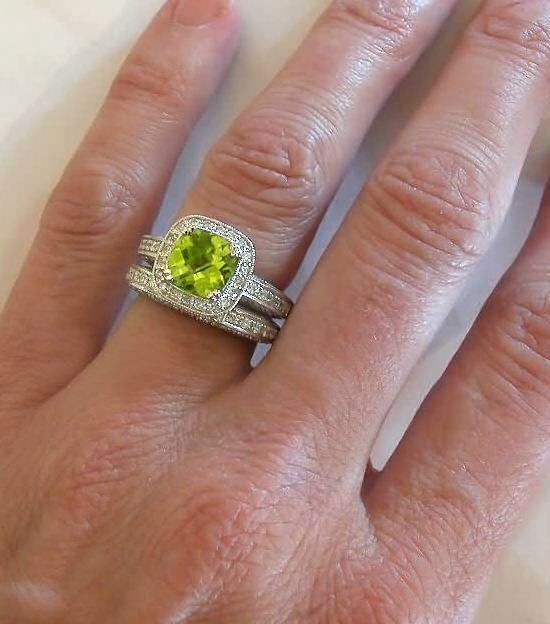 Now We Re Talking Wedding Ring Finger Peridot Engagement Rings Engagement Rings Channel Set