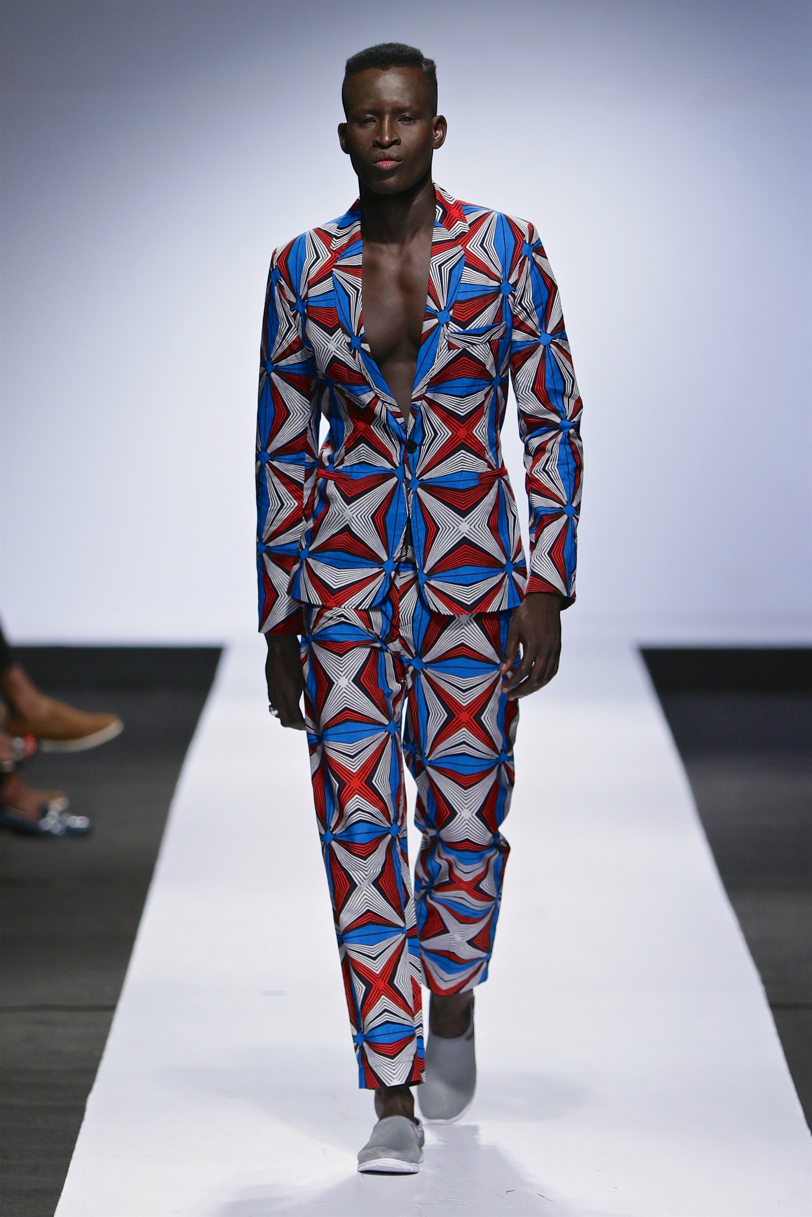 Laurence Airline Lagos Fashion Week Menswear Trends Tendencias Moda Hombre
