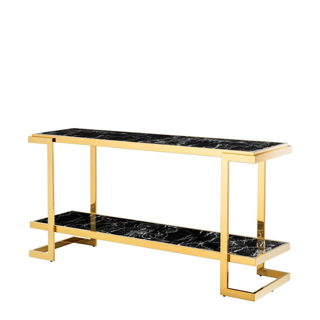 Black Marble Console Table Eichholtz Senato 1 Eichholtz Retailer Marble Console Table Console Table Entryway Table Modern
