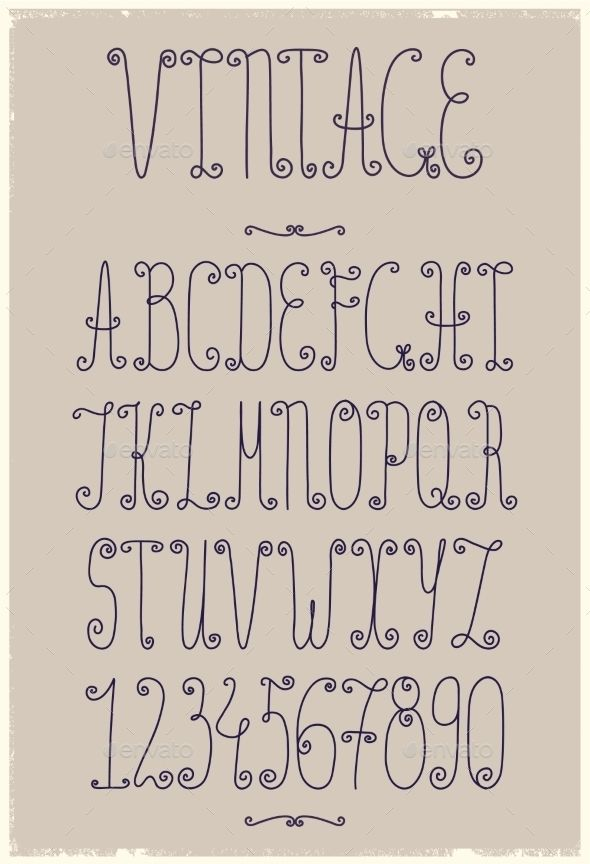 Vintage Handwriting Font Lettering Alphabet Fonts Hand Lettering Alphabet Fonts Handwriting Alphabet