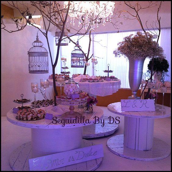 Mesa de postre boda: