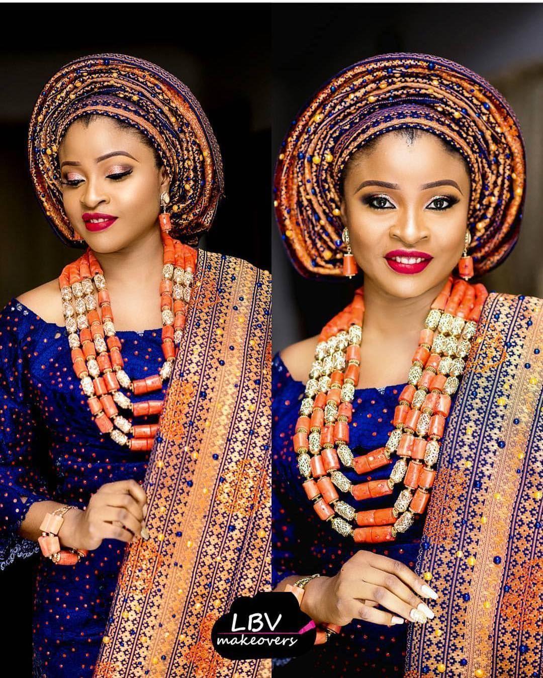 Yoruba traditional wedding decorations  See this Instagram photo by bellanaijaweddings u  likes  Eye