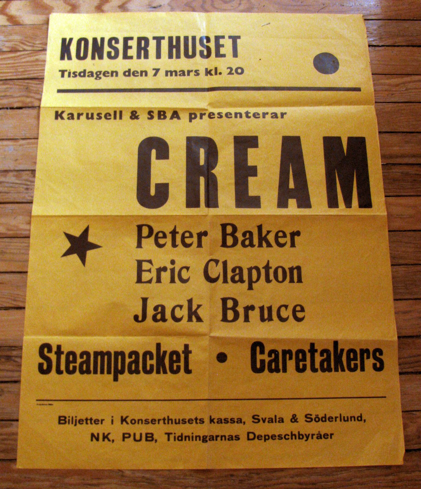 Cream 1967 before Peter became Ginger! (With images