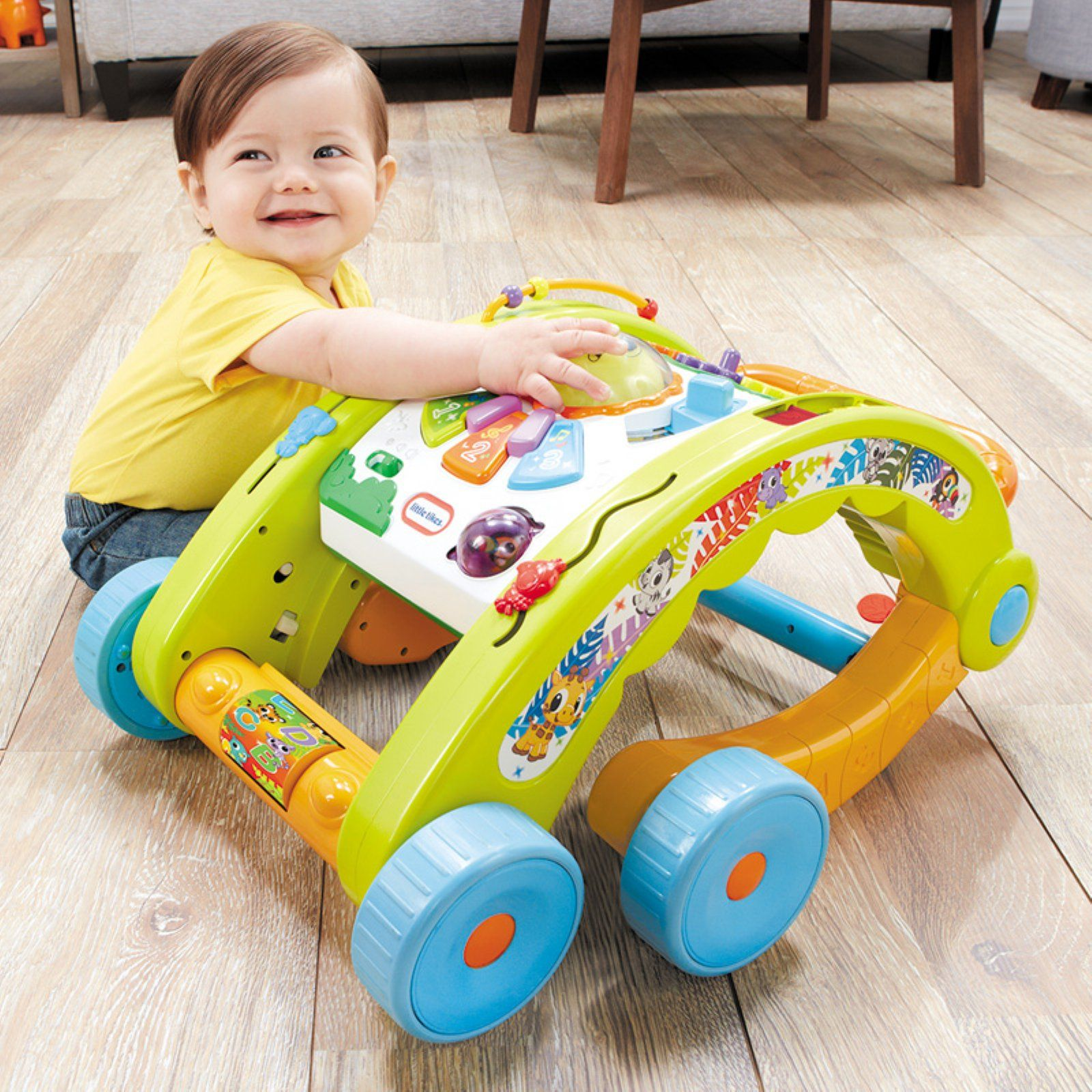 Little Tikes 3 In 1 Activity Walker Green Multicolor Popular Toys Christmas Toys Toys