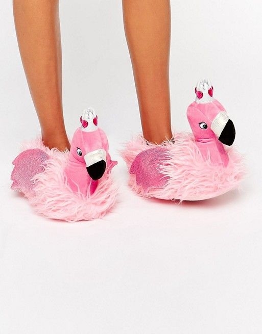 Nutcracker flamingo princess scarpe a pantofola candy for Fenicottero arredamento