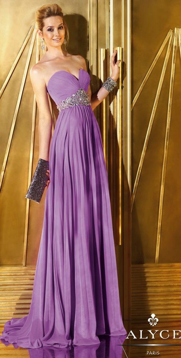 Prom Dresses<BR>Evening Dresses by ALYCE PARIS<BR>6283<BR>Strapless ...