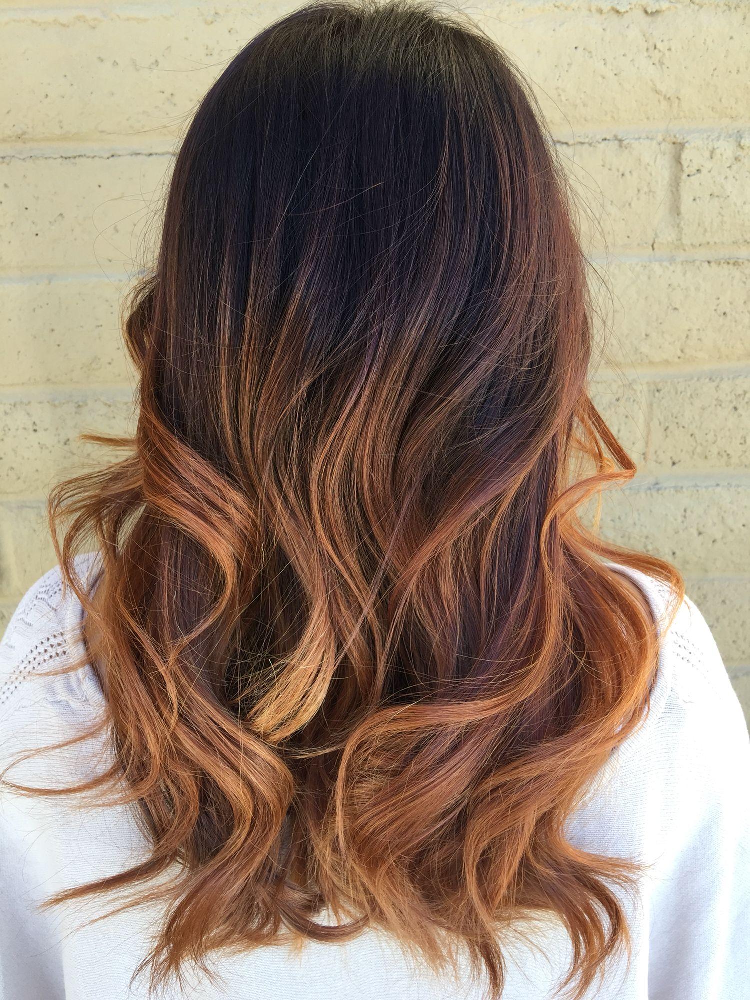Warm brown Ombré by Aleese Moore   Ombré Hair   Brown hair ...