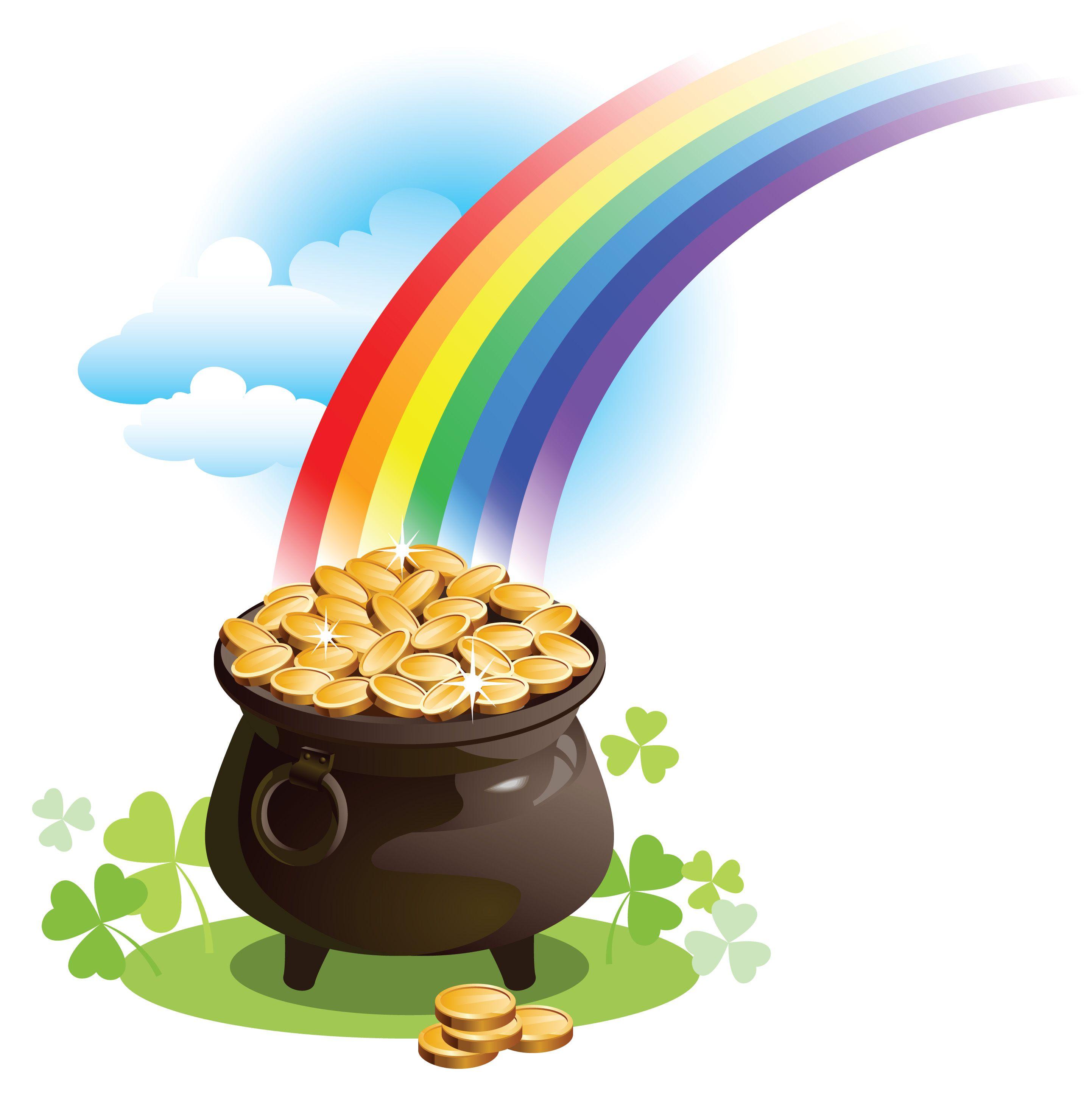 Resultado de imagen de rainbow saint patrick