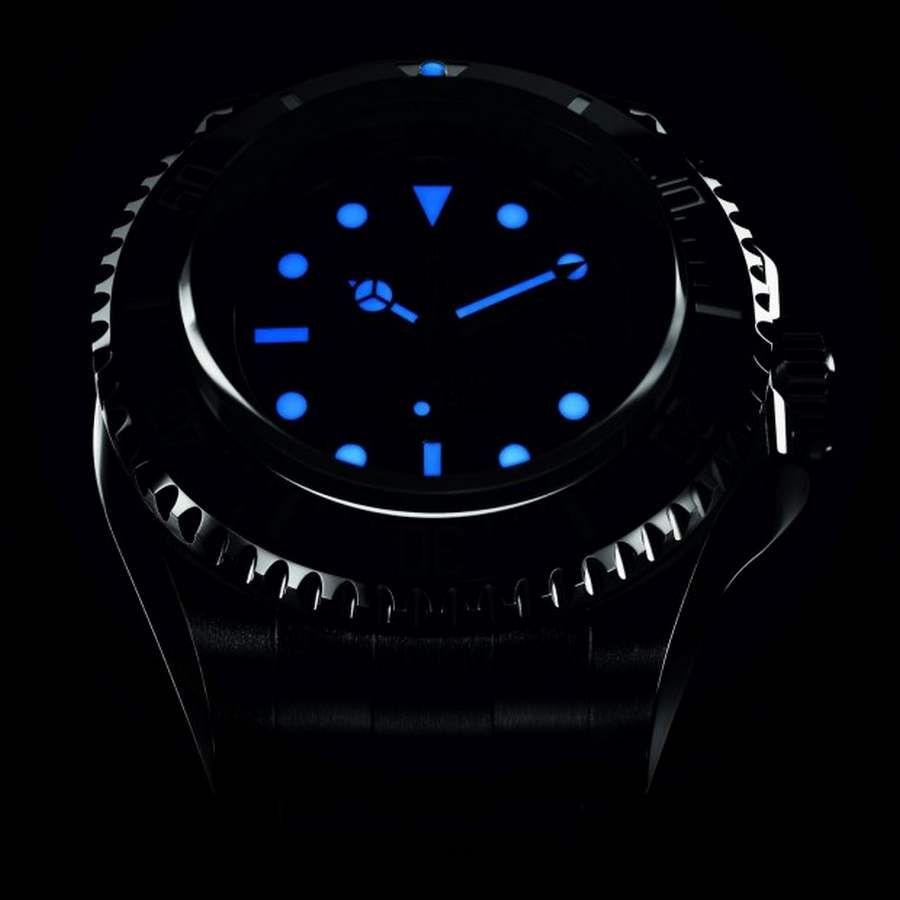Rolex Deepsea Challenge in the dark