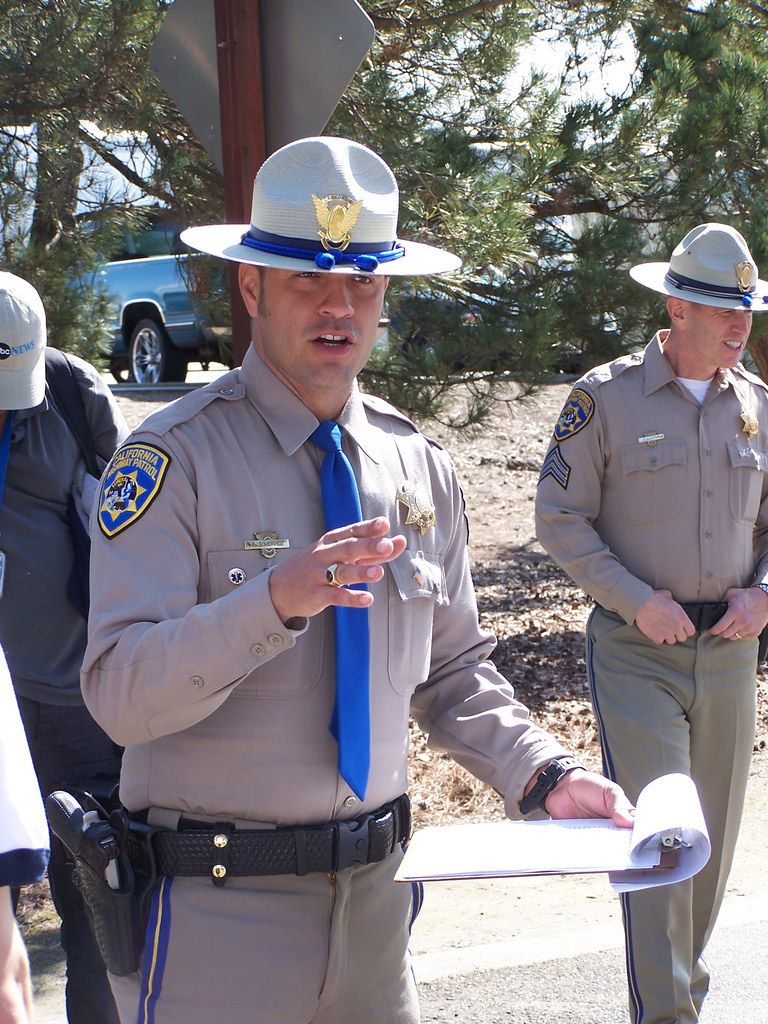CHP Academy Drill Instructor   Military and cops in 2019