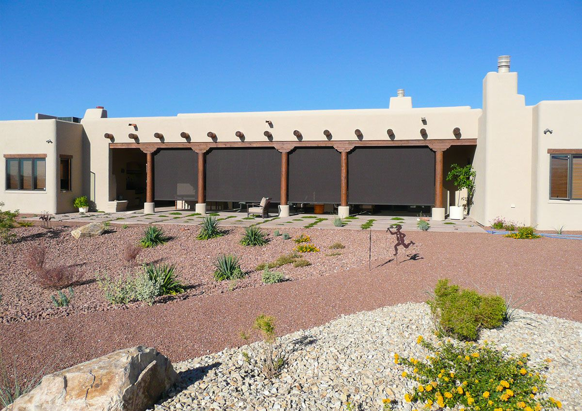 Ordinaire Santa Fe Awning   Santa Fe Patio Wind And Solar Screens
