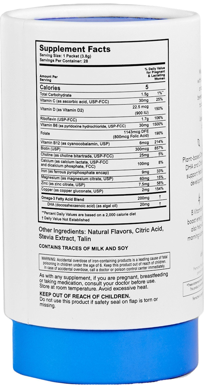 60ea9611c pregnancy nutrition - PREMAMA Prenatal Vitamin DHA Drink Mix Comprehensive  Multivitamin Supplement To Support Prenatal Health
