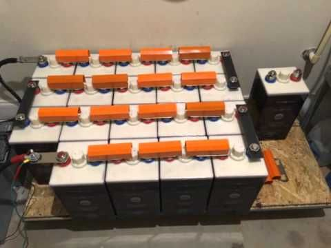 Diy Home Power Nickel Iron Batteries For Solar Youtube Home Diy Battery Bank Diy Batteries
