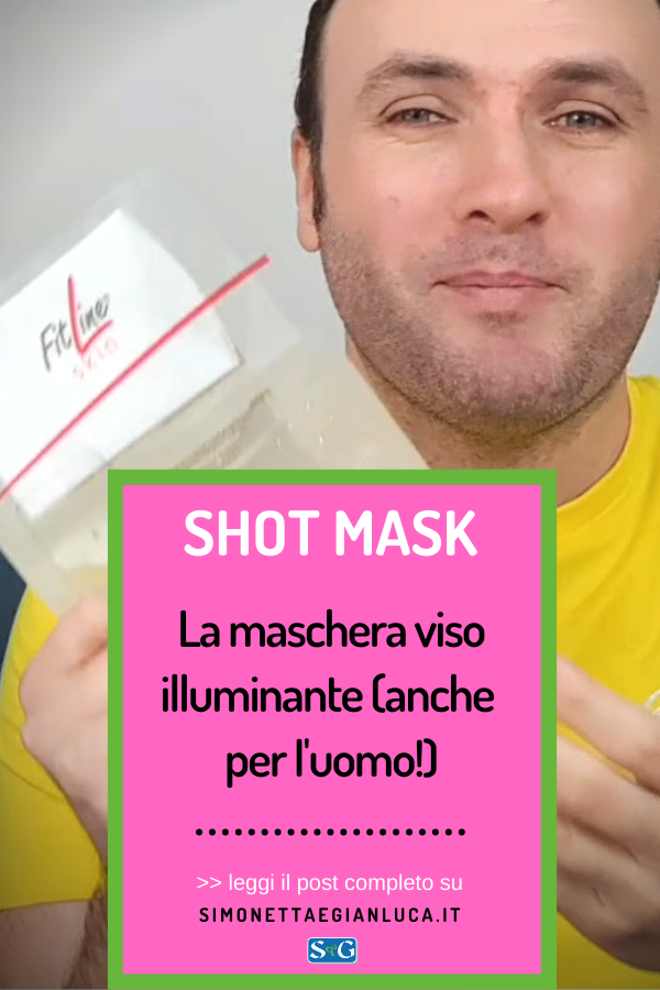 Maschera viso uomo illuminante Shot Mask FitLine Skin