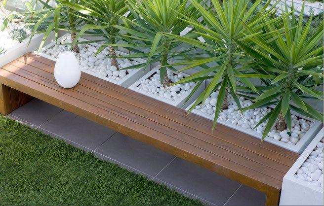 Terraza diseño moderno Mi jardín Pinterest Diseño moderno - jardines en terrazas