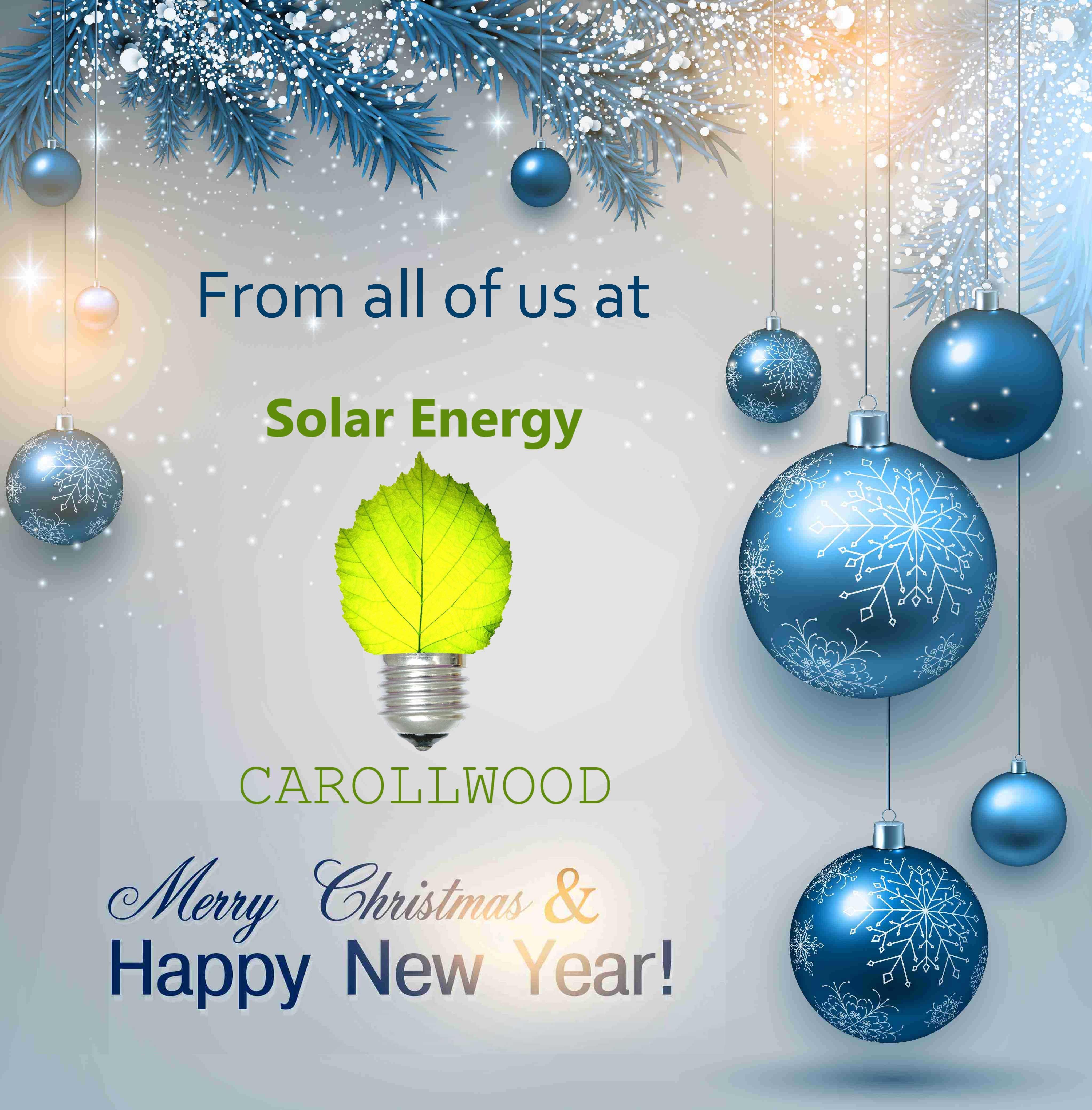 Happy Holidays! - http://solarenergycarrollwood.info/solar-energy/happy-holidays/