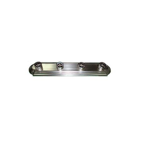 Whitfield 4-Light Satin Nickel Bath Vanity