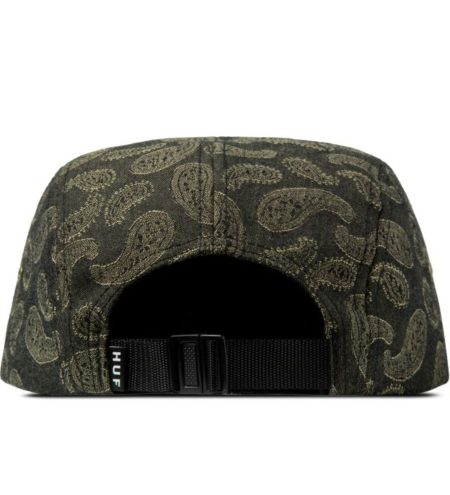 HUF Tobacco Paisley Volley Cap