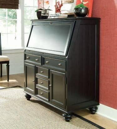 Solid Wood Secretary Desk With File Drawer Google Search