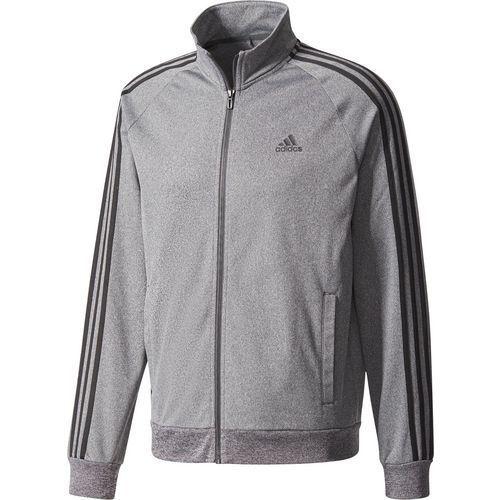 quality design 7349d 4cfc1 Adidas Men s Essentials 3-Stripe Tricot Track Jacket (Dark Grey  Heather Solid Grey Black, Size X Large) - Men s Athletic Apparel, Men s  Athletic Pe.