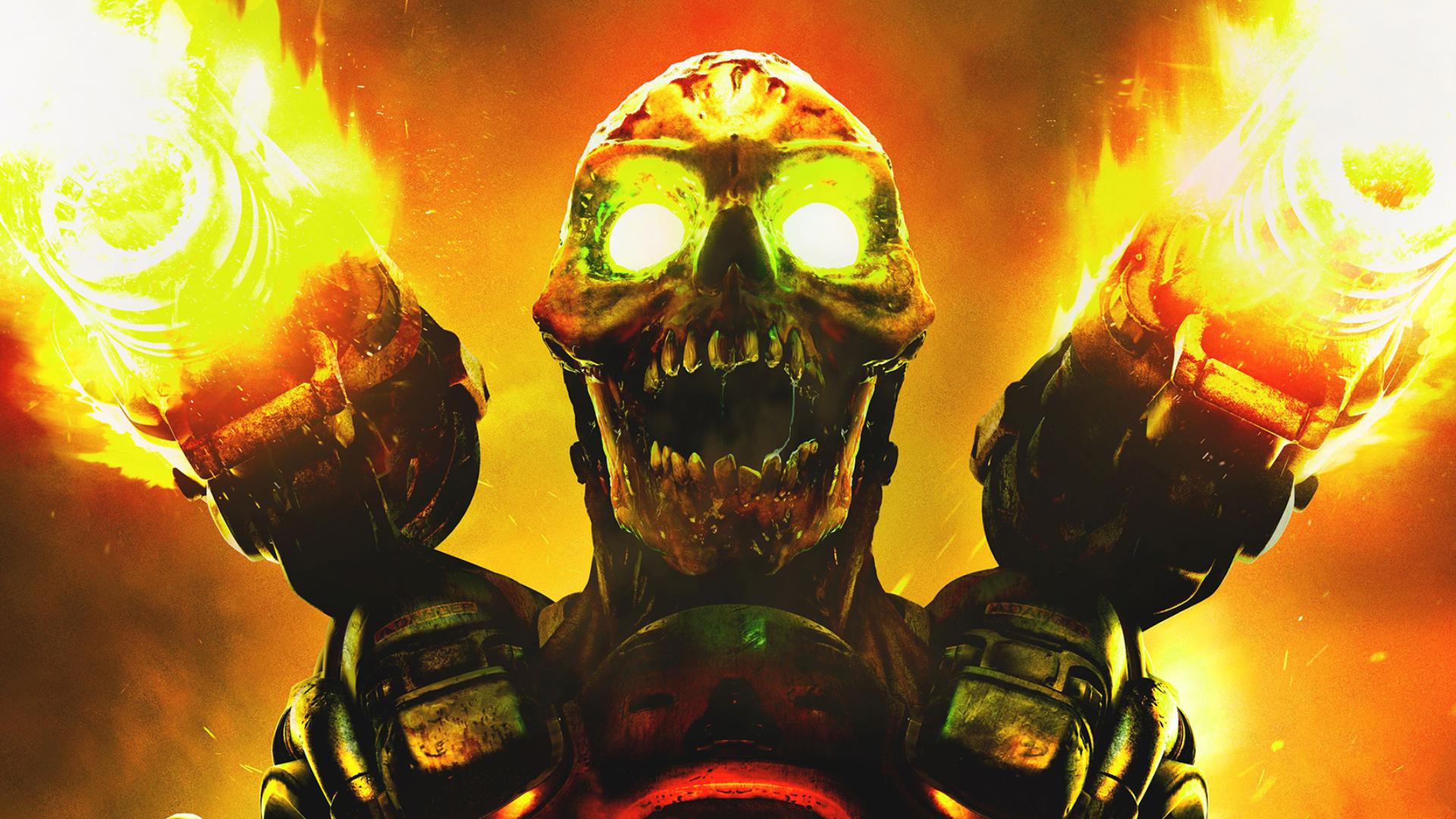 Wallpaper from the new #DOOM Revenant   Synth   Doom game