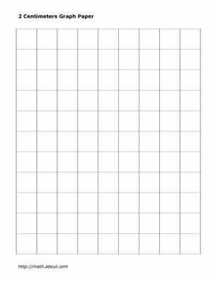 Practice Your Math Skills With This Printable 2-Centimeter Graph - free isometric paper
