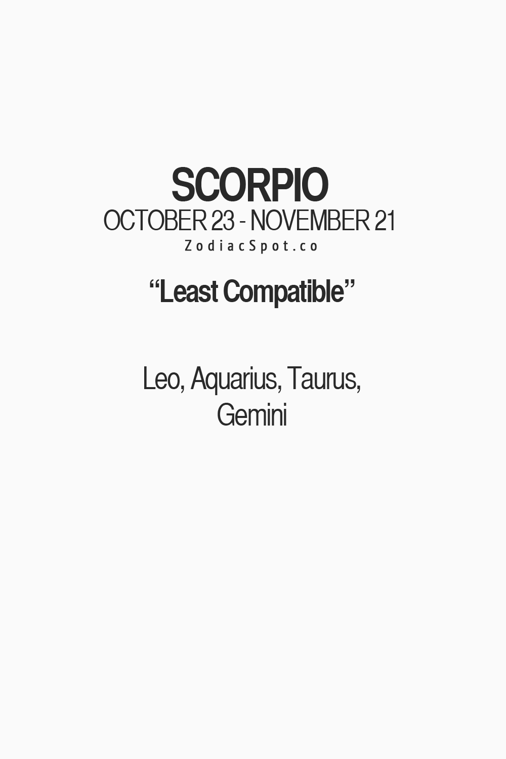 What Zodiac Sign Is Scorpio Most Compatible With