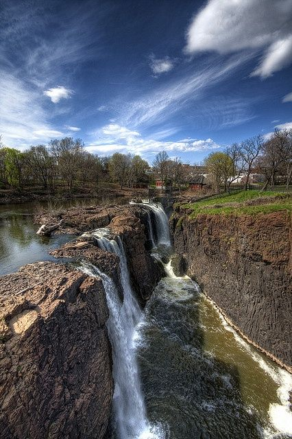 The Great Falls Paterson New Jersey