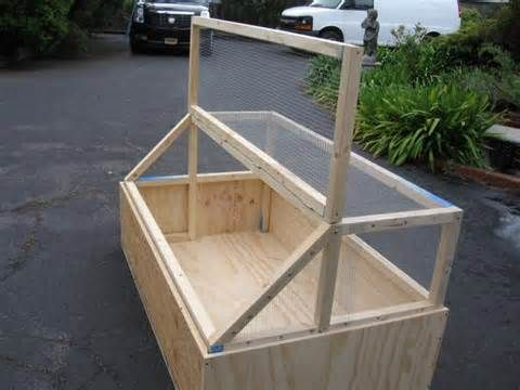 Best Design For Chick Or Brooder Cage. Wondering If This Can Be Done Using  Recycled