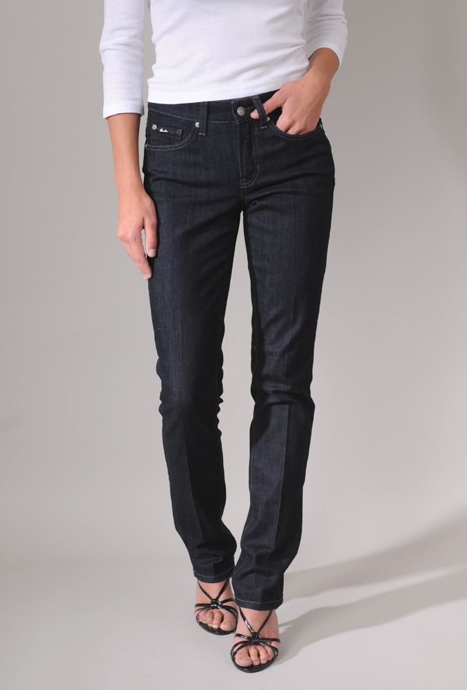 Cambio Norah Slim Long Jean in Modern Blue Denim absolutely divine ...