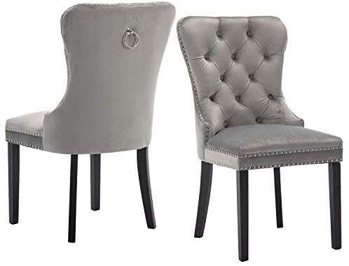 Best Amazon Com Velvet Dining Room Chairs Upholstered 640 x 480