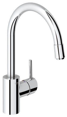 Grohe 32663001 Concetto Einhand-Spültischbatterie   Hoher Auslauf - Wasserhahn Küche Hansgrohe