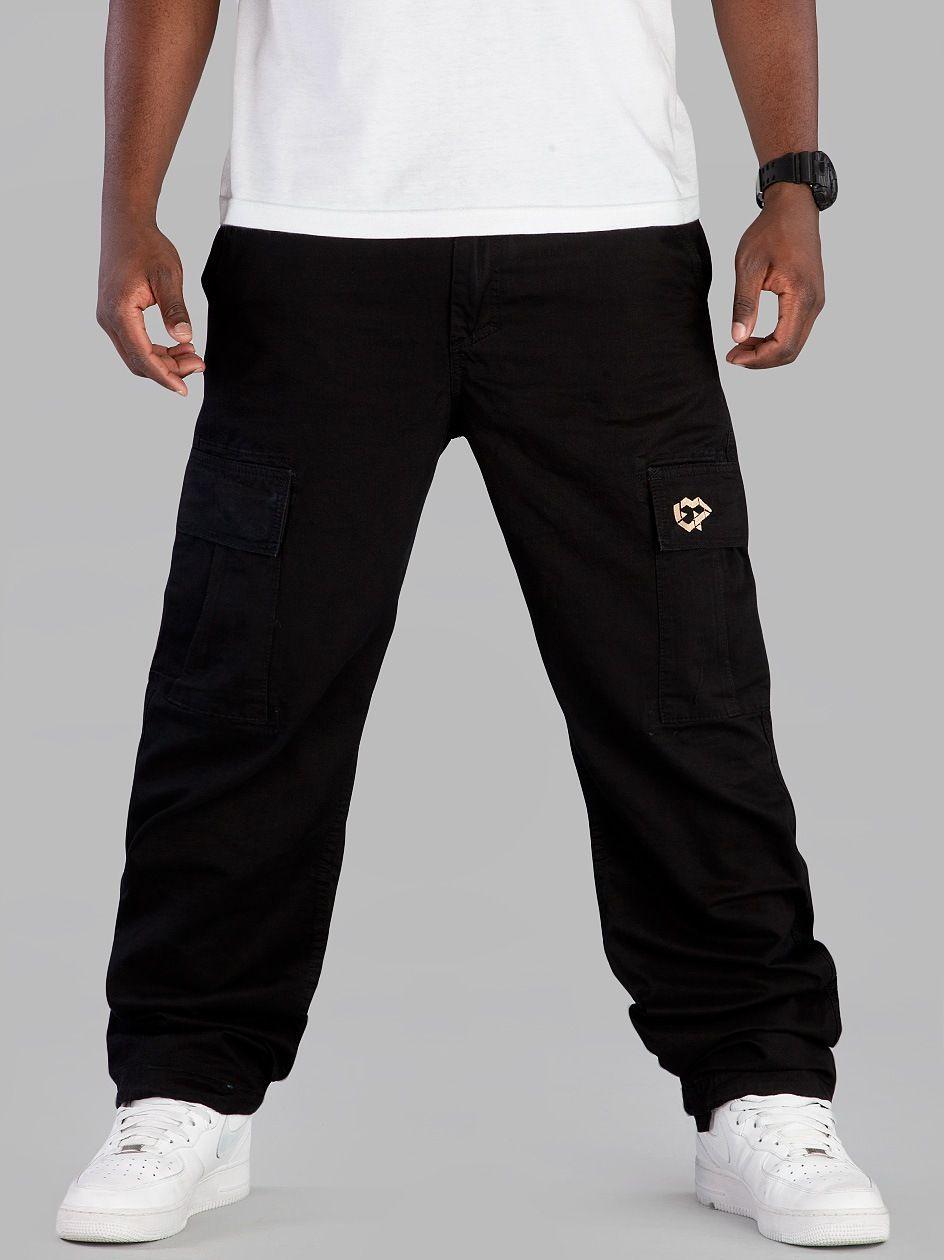 Urbancity Pl Spodnie El Polako Grizzly Black Black Sweatpants Fashion