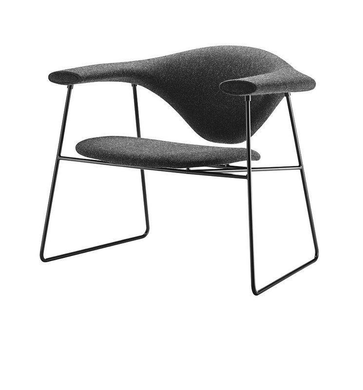 GUBI Masculo Lounge chair by GamFratesi | Møbeldesign