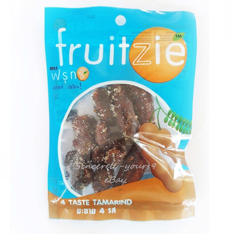 Thai Fruit Fruitzie TAMARIND 4 Taste Thai Dried Fruit Snack 2.11 oz ...