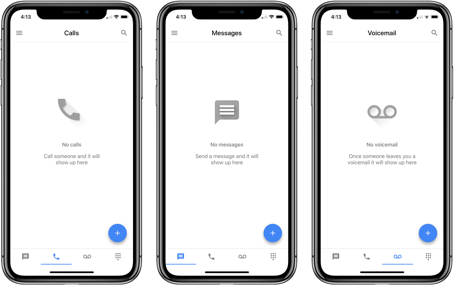 Google Voice finally updated with iPhone X optimization