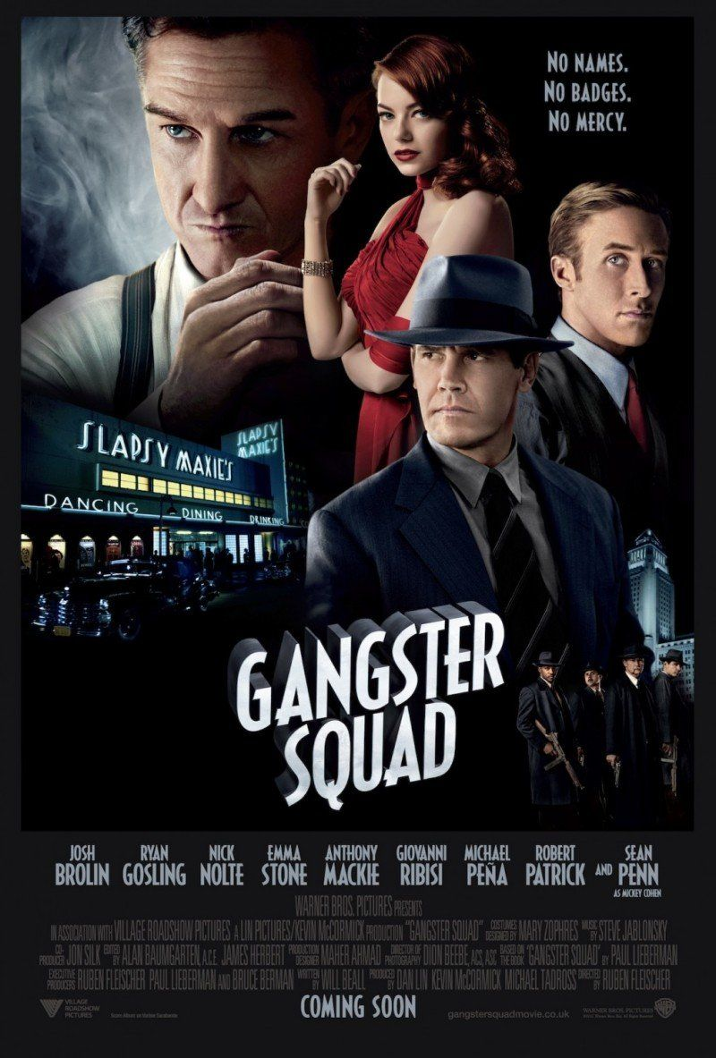 Movie Poster Inspiration Gangster Squad Gangster Squad Gangster Movies Gangster