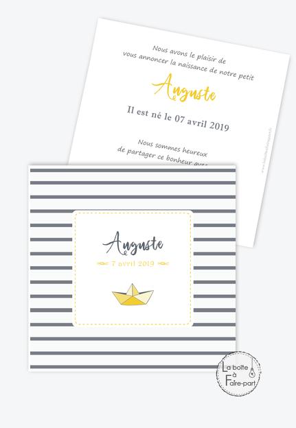 Annonce De Naissance Par Email