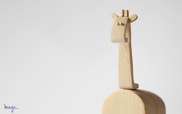 """Il progetto """" Animal Habitat Wooden Toys"""" nasce dalla volontà di  promuovere il concetto di  bellezza e della semplicità ..."""