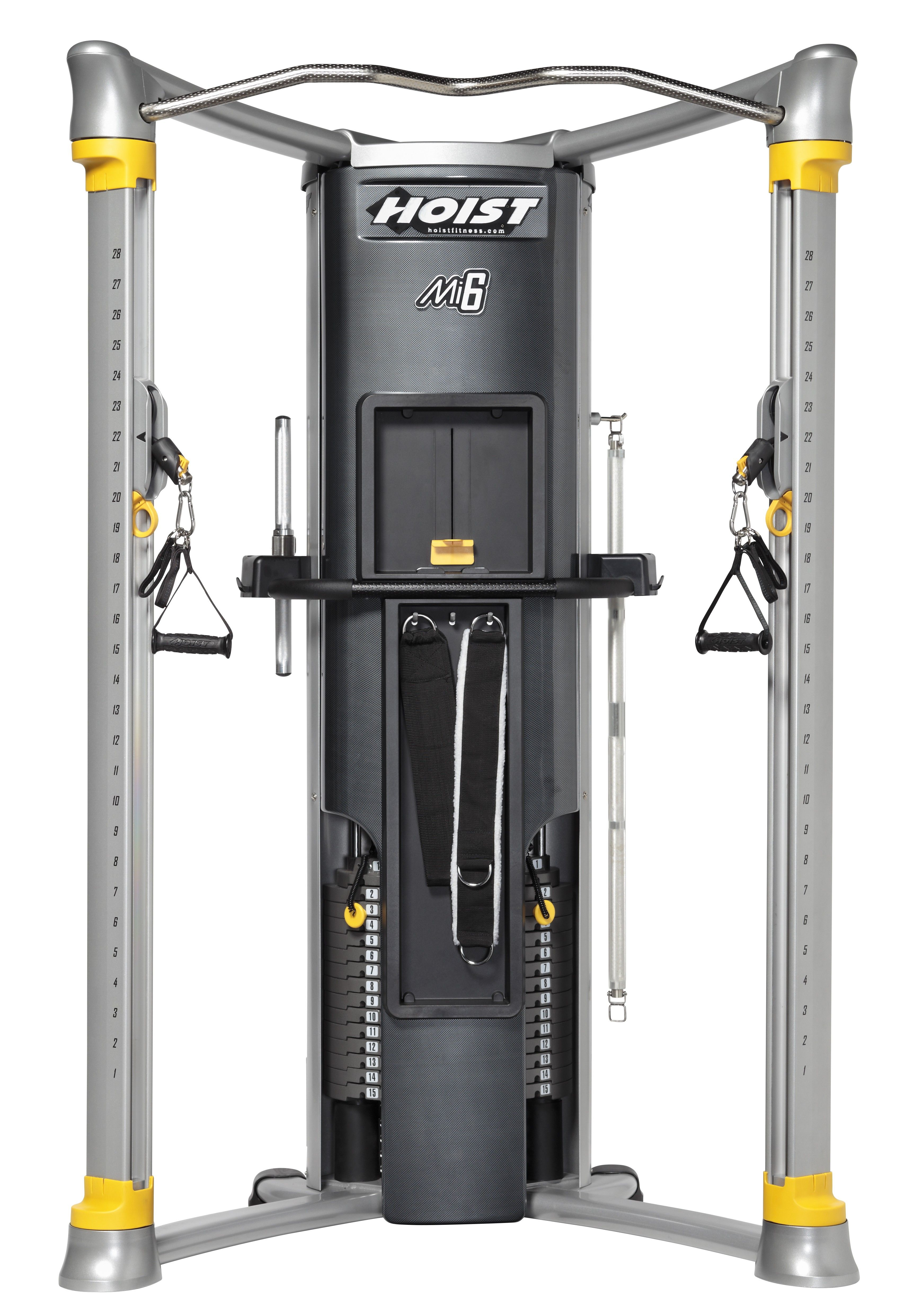 Hoist mi6 functional trainer home gym shape me: home gym