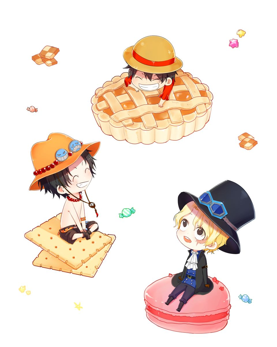 Asl Brothers Monkey D Luffy Portgas D Ace And Sabo One Piece